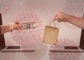 Coronavirus Cells and Online Sales