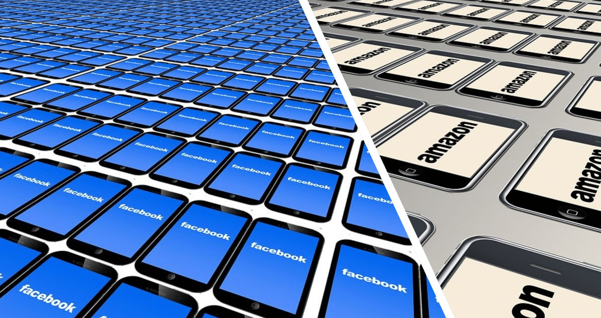 Amazon and Facebook