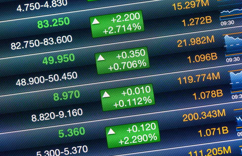 increases of the stock market