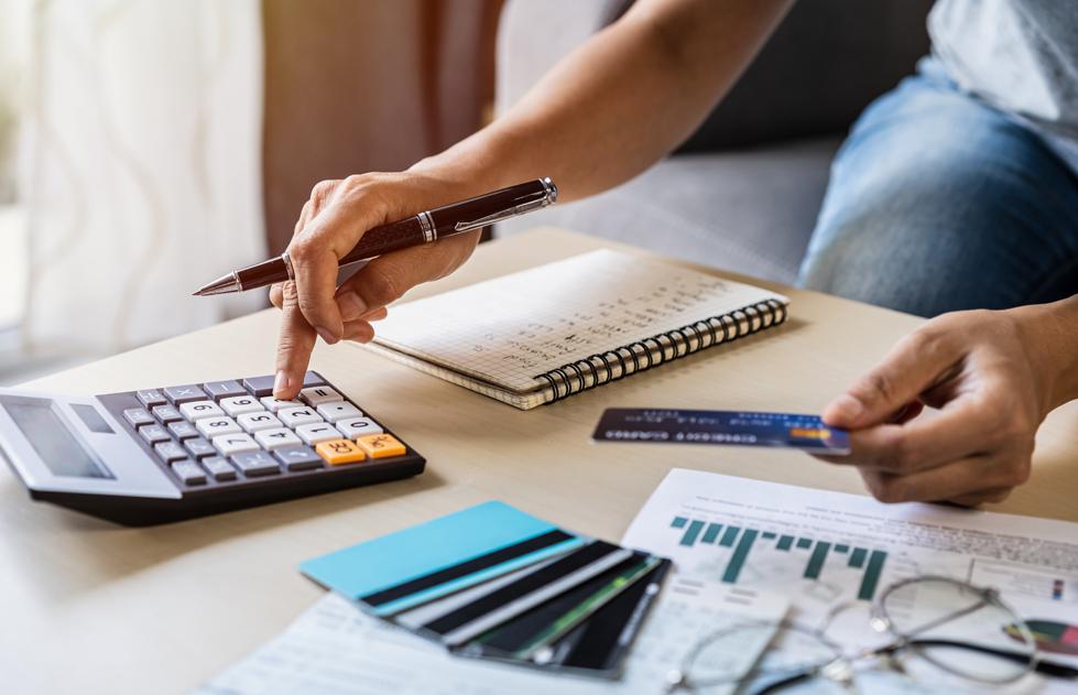 risk management checking bills taxes bank account balance